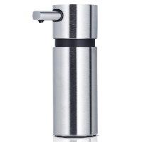 Blomus Areo brushed stainless steel large soap dispenser