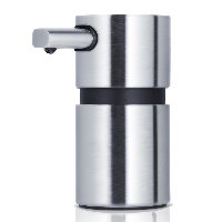 Blomus Areo polished stainless steel small soap dispenser