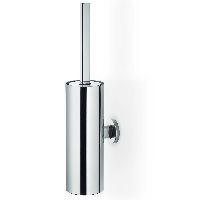 Blomus Areo brushed stainless steel wall toilet brush