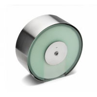 dline hardware bathroom frosted maxi roll holder
