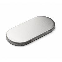 dline hardware blank oval cylinder escutcheon